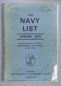 The Navy List Spring 1973