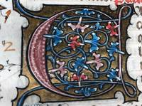 Two manuscripts in one.early 15th century Psalter