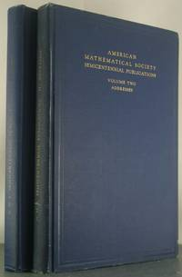 AMS Semicentennial Publications: Vol 1: A Semicentennial History of the American Mathematical...