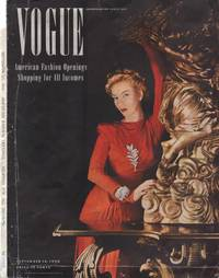 image of Vogue Magazine, September 15, 1940 - Cover Only