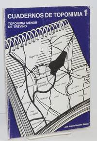 Cuadernos de toponimia 1: toponimia menor de treviño by  José Antonio González Salazar - Paperback - First Edition - 1985 - from Bolerium Books Inc., ABAA/ILAB (SKU: 204750)