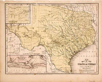 Map of the State of Texas Engraved to Illustrate Mitchell's School and Family Geography