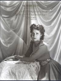 The Jewels and Objects of Vertu of the Honorable Clare Boothe Luce. Sotheby's Auction [Catalog] Tuesday, April 19, 1988
