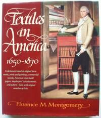 Textiles in America 1650-1870