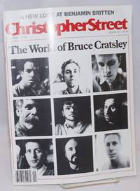 Christopher Street: vol. 10, #7, whole issue #115, September 1987; The World of Bruce Cratsley