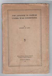 The Japanese in Hawaii Under War Conditions