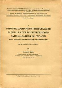 Hydrobiologische Untersuchungen in Quellen des Schweizerischen Nationalparkes im Engadin (unter...