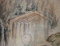 [Watercolor Album] Tokayi-do.  Famous Places on the Tokaido