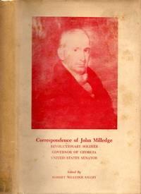 Correspondence of John Milledge, Governor of Georgia 1802-1806