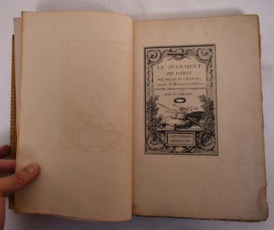Amsterdam, 1774. Hardcover. VG (front cover is unattached but back cover and spine are in great cond...