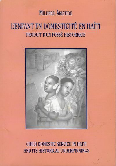 [Port-au-Prince, Haiti: Bibliotheque Nationale d'Haiti, 2003. First Edition. 8vo., orange pictorial ...