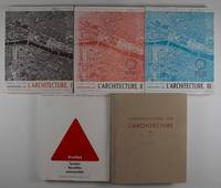 Conversations Sur L'Architecture. Vols. I, II, III A, III B, VI (Complete Volume 5 was never published)