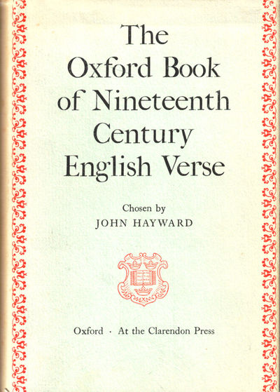 London: Oxford University Press, 1964. Hardcover. Very good. First Printing. xxxv, 951pp+ indices. V...