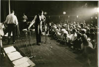 Archive of photographs featuring Chubby Checker on stage, circa 1963