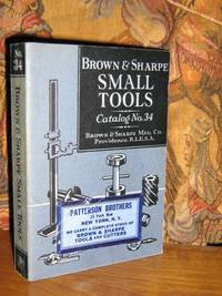 Brown & Sharpe Small Tools Catalog #34
