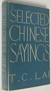 image of Selected Chinese Sayings