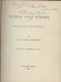 HYMNS AND VERSES: TRANSLATED AND ORIGINAL