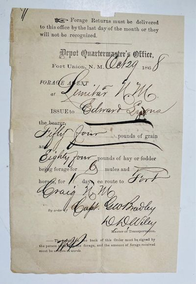 [New Mexico].  Printed document...