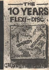 image of The 10 Years Flexi-Disc. Czech punk zine with an essay on the punk movement in Plzen, Czechoslovakia