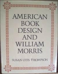image of AMERICAN BOOK DESIGN AND WILLIAM MORRIS