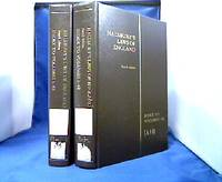 Halsbury`s Laws of England. Index to Volumes 1 to 42. - 2 Bände: A-H + I-Z.