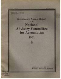 Seventeenth Annual Report of the National Advisory Committee for  Aeronautics 1931