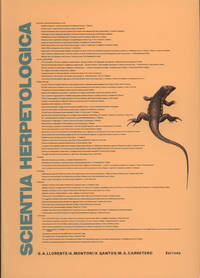 Scientia Herpetologica: Papers Submitted from the 7th O.G.M. Of the Societas Europaea Herpetologica, Barcelona, September 15–19, 1993