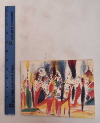 New York: Fourcade, 1977. Softcover. VG. Color illustrated wraps. 1 volume (unpaged). Catalog of an ...
