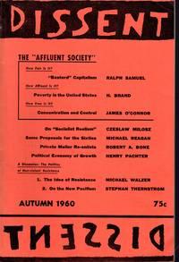 image of Dissent:  Quarterly of Socialist Opinion: Volume VII, No. 4: Autumn, 1960
