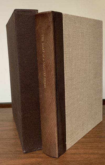 New York: Limited Editions Club, 1986. Hardcover. Orig. brown Nigerianand goatskin and Belgian light...
