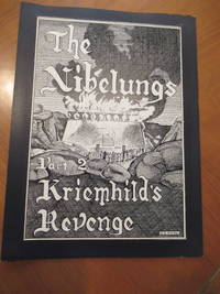 """(Fantasy Art) The Nibelungs Part 2 Kriemhild's Revenge, Original Ink Drawing For The Poster Design, Titled On Reverse By Estes """"The Burning Of Attila's (Etzel's) Fortress- The End Of The Nibelungs"""", Also Signed By Estes With His 1965 Address"""