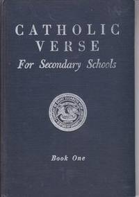 Catholic Verse for Secondary Schools Book One