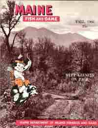 maine fish and game fall 1966 vol iii no 4 by maine