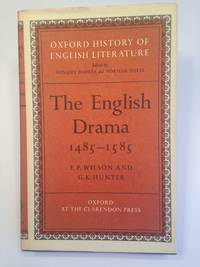 image of The English Drama 1485-1585 OXFORD HISTORY OF ENGLISH LITERATURE