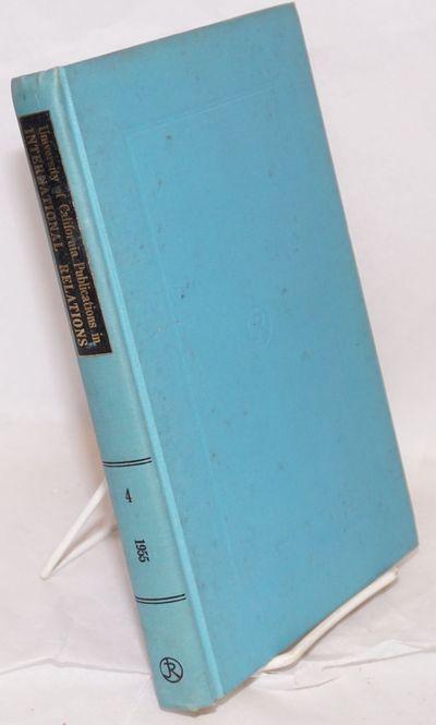 New York / Berkeley: Johnson Reprint Corporation / University of California Press, 1966. xii, 290p.,...