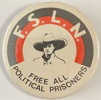 image of FSLN / Free all political prisoners [pinback button]