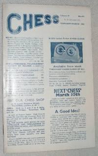 Chess: February-March 1962, Volume 27, No. 404