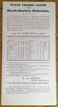 1888. Western Land Agency. Iowa, Nebraska, Kansas, Minnesota [caption title]