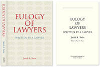 Eulogy of Lawyers. HARDCOVER WITH DUST JACKET