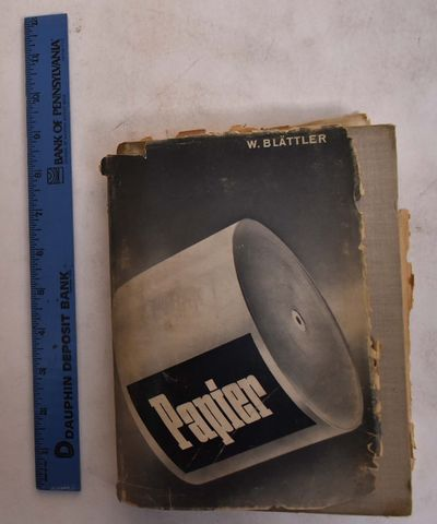 Luzern: Werner Blattler, 1947. Hardcover. Poor/Poor (staining to boards, aging and wear to block edg...