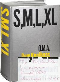image of S, M, L, XL [Small, Medium, Large, Extra-Large] (First Edition, inscribed by Koolhaas in January 1996)