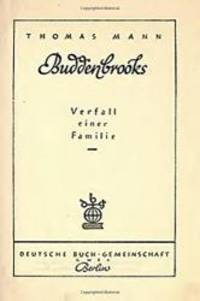 image of Buddenbrooks: Verfall einer Familie (German Edition)