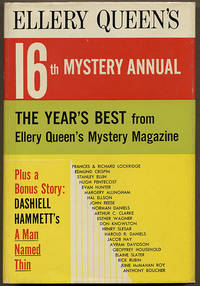 ELLERY QUEEN'S 16th MYSTERY ANNUAL: THE YEAR'S BEST FROM ELLERY QUEEN'S MYSTERY MAGAZINE