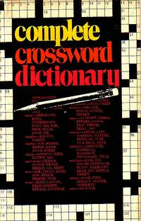 image of The Complete Crossword Dictionary