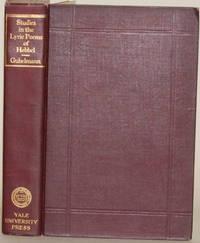 STUDIES IN THE LYRIC POEMS OF FRIEDRICH HEBBEL The Sensuous in Hebbel's  Lyric Poetry