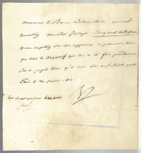 Napoleon Bonaparte and Joseph Bonaparte Signed Document.
