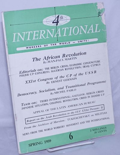 Amsterdam: International Executive Committee of the Fourth International, 1959. Magazine. One issue,...