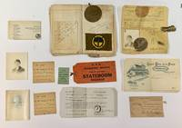 WWI NURSE'S POCKET DIARY.  September 9, 1918 - July 20, 1919.; With Associated Ephemera & Momentos