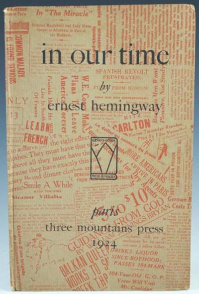 ernest hemingways in our time essay Masculinity in hemingways in our time literature essay print reference the collection of the short stories by hemingway in his book in our time (ernest 147.