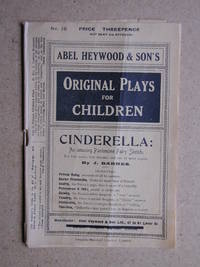Cinderella: An Amusing Pantomime Fairy Sketch. by  J Barnes - Paperback - from N. G. Lawrie Books. (SKU: 37937)